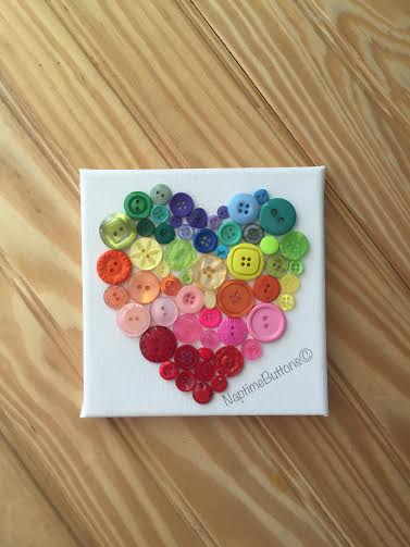 buttons-filled-rainbow-heart